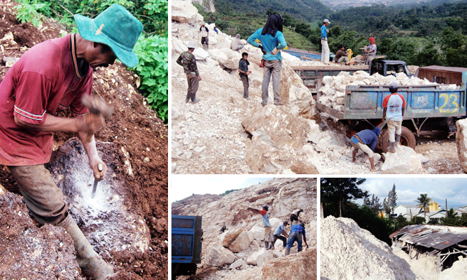 Potensi penyakit silicosis di Industri Kapur dan marmer di Kabupaten Bandung Barat