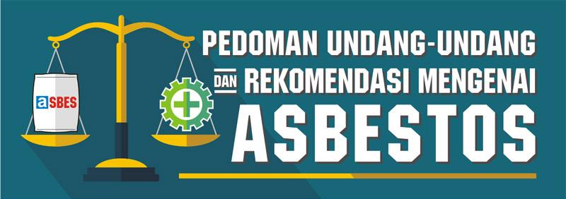 Banner infografik- 5 Pedoman undang-undang asbestos