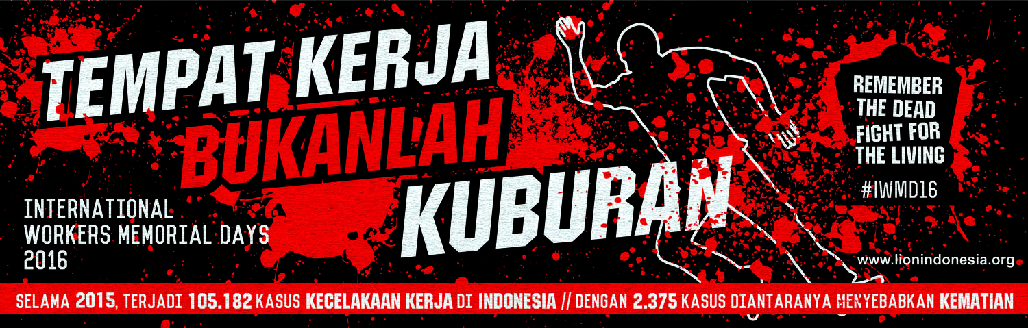 International Worker's Memorial Day In Indonesia