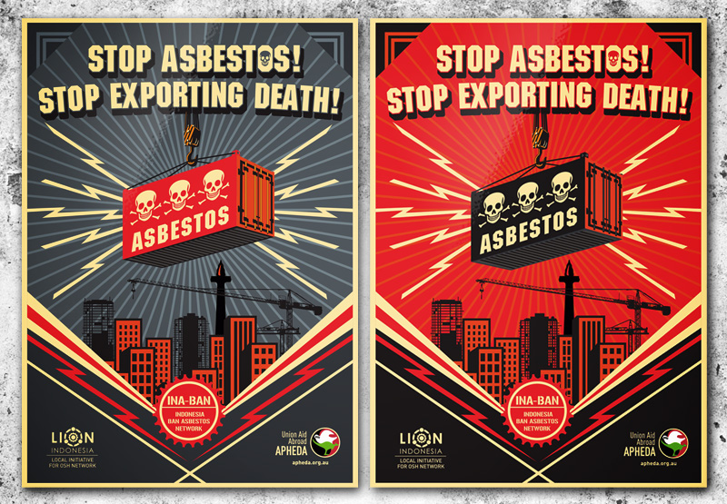 [Download] Poster Stop Asbestos! Stop Exporting Death!