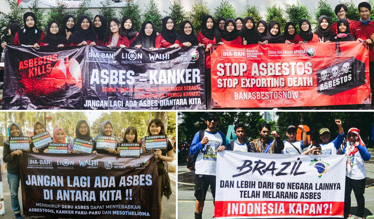 Ban Asbestos Campaign-Bandung Indonesia