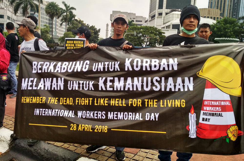 Aksi IWMD Jakarta 2018