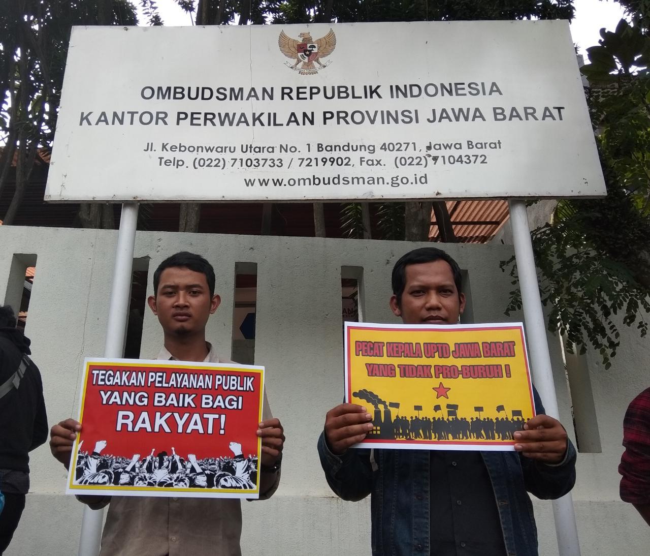 Pegawai Pengawas Ketenagakerjaan Diduga Lakukan Malpraktik, Fsedar Laporkan Ke Ombudsman